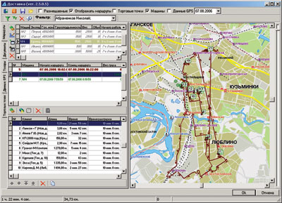 Мобильная торговля: ОПТИМУМ ГИС (Географическая Информационная Система) — решение для планирования и создания маршрутов торговых представителей и       анализа результатов их деятельности на основе технологий GPS.